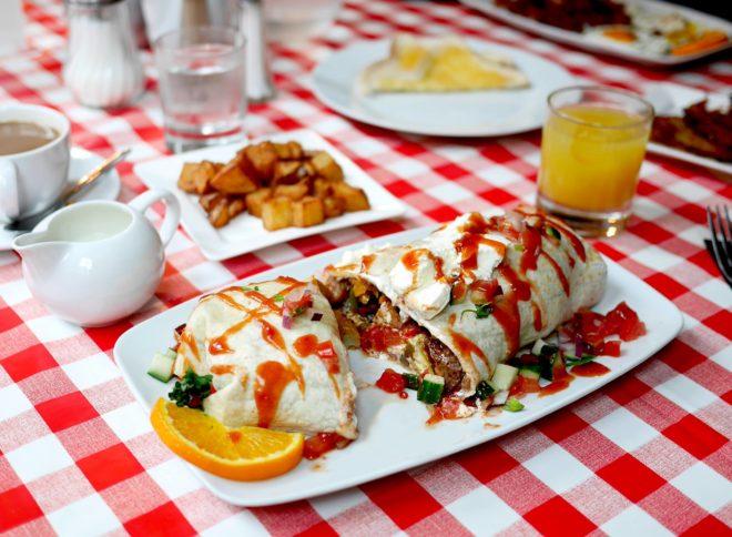 National Breakfast Week at Burrito Annies Burger Shack