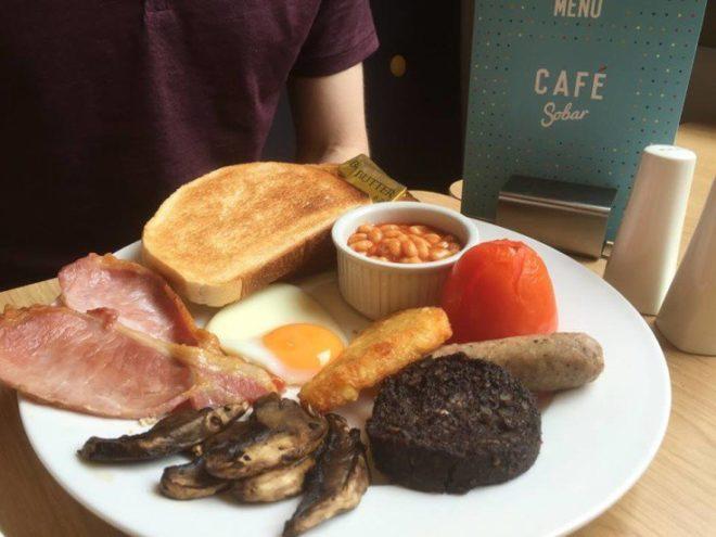 Cafe sobar breakfast