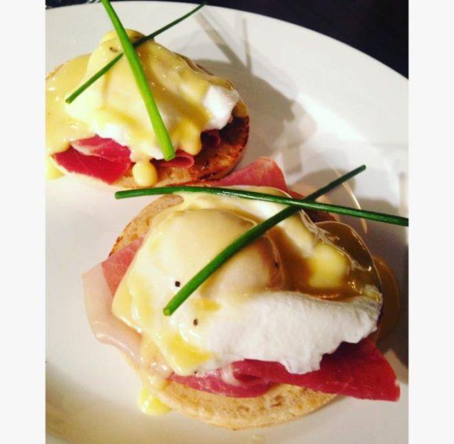 Fat Cat Cafe Bar Eggs Benedict