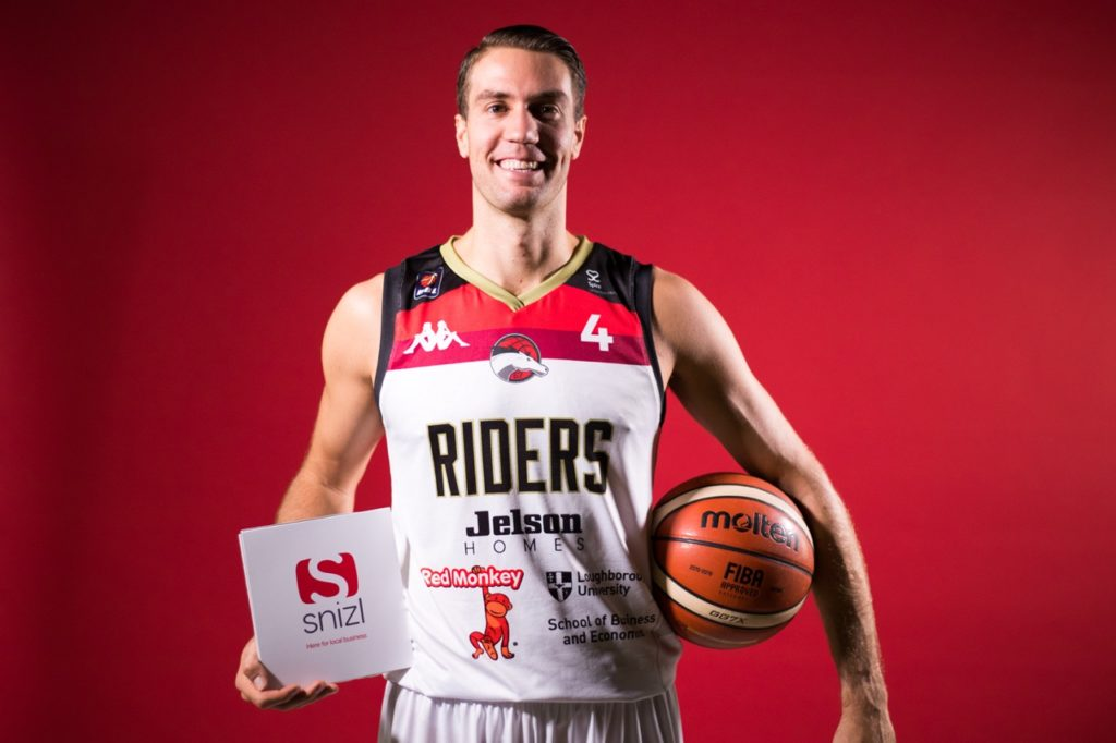 Snizl and Leicester Riders