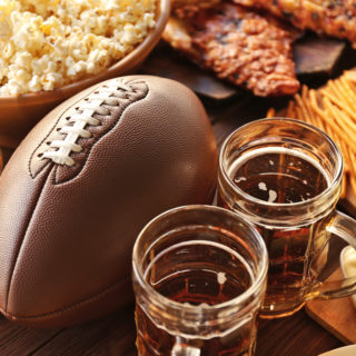 Beer, Snacks, Football