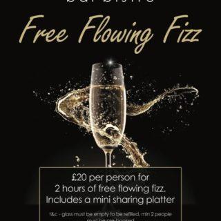 Free flowing fizz
