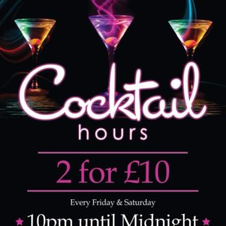 Cocktail offer