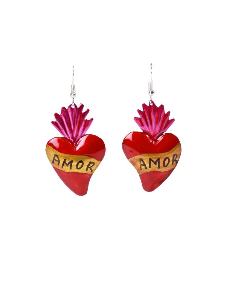 Valentine's Amor Heart Earrings