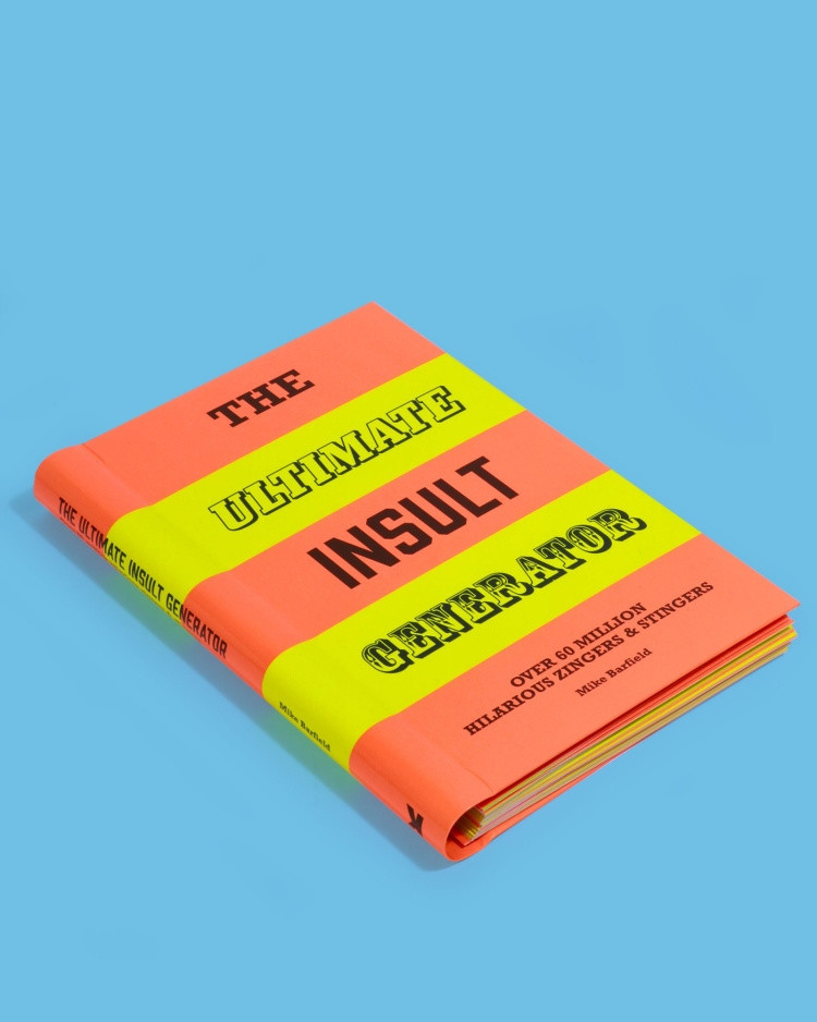 The Ultimate Insult Generator Book