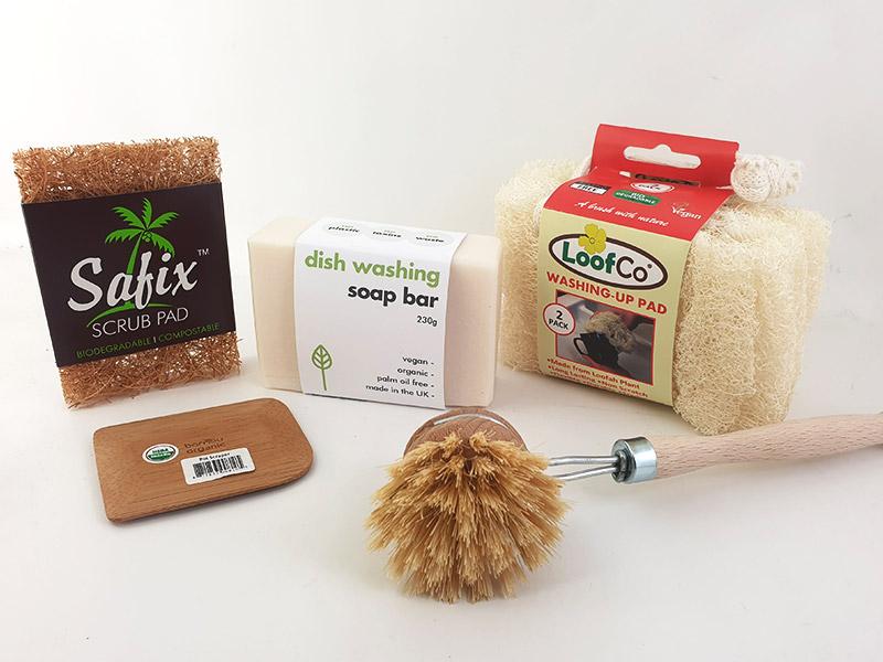 eco-friendly washing up kit