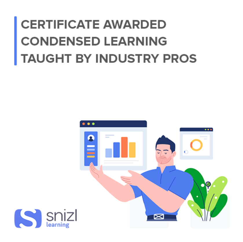 Get 50% OFF all courses with Snizl Learning when you're a Gold Member.
